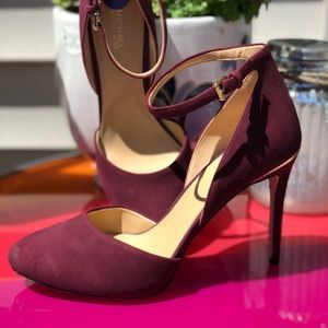Michael Kors  Closed Toe Ankle Strap Pumps heel